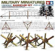 Tamiya 35027 1/35 Scale Military Miniatures Accessories Model Kit Barricade Set