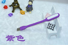 Flexible Mini USB LED Light LED Lamp for Keyboard Reading Laptop Notebook Purple