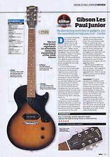 GIBSON LES PAUL JUNIORoriginal press clipping20x28cm