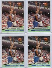1992-93 Fleer Ultra Basketball Shaquille O'Neal Rookie 4 Card Lot