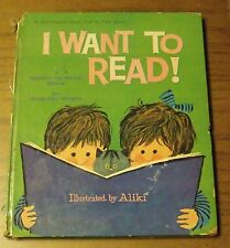 I Want to Read A Ready to Read book A Whitman Giant Tell-a-Tale Book