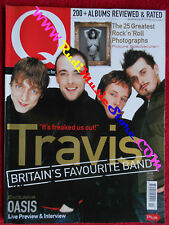 Q Magazine 161/2000 Travis Robert Smith Oasis Moby Milli Vanilli  Nocd
