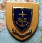Old HMS WRNS WRENS Womens Royal Navy Service Ship Crest Shield Plaque