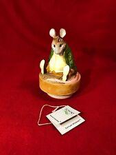 Vintage Schmid Beatrix Potter Samuel Whiskers Musical Music box