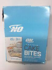 Optimum Nutrition Cake Bites Birthday Protein Bar Box Of 12 222oz Packs