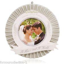 Hallmark 2015 Our Wedding Photo Frame Ornament