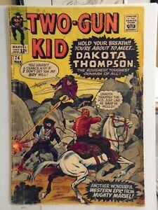 Marvel TWO GUN KID #74 (1965) 1st App of Doctor Grimm & Judge Abernathy
