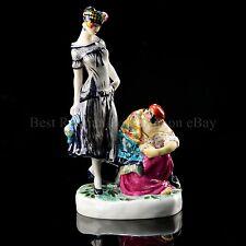 Russian Imperial Lomonosov Porcelain Figurine Sculpture Fortune Teller Danko LFZ