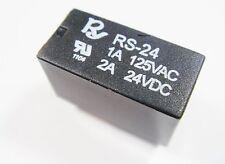 2 x Relais 24V 2xUM 125V 1A 24V 2A REYEX RS-24 #11R73#