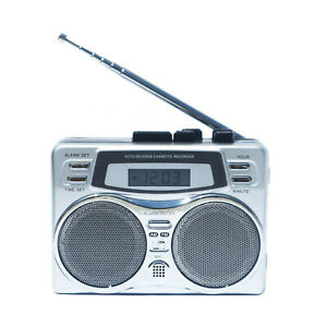 Class Portable Walkman Cassette Radio Player Recorder With Built In Speaker C5