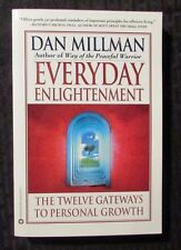 1999 EVERYDAY ENLIGHTENMENT by Dan Millman - 1st Trade Warner Paperback VF+