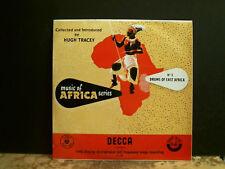 """Hugh Tracey música de África-Nº 3. tambores de África Oriental Lp 10"""" copia encantador!"""