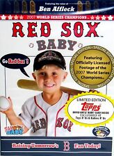 Team Baby - Red Sox BASEBALL  Baby DVD, FREE SHIP! KIDS ,WORLD SERIES 2007,TOPPS
