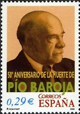 [CF3150] España 2006, Serie 50 Aniv. de la muerte de Pío Baroja (UNC)