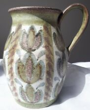 Vintage Pottery - Early Glyn Colledge inscribed Vintage Denby Pitcher