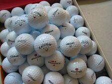 50 Golfbälle Marken Mix, Titleist, Callaway, Wilson, Nike, TaylorMade, Vice etc.
