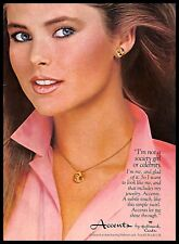 1979 Accents Jewelry Vintage PRINT AD Hallmark Cards Necklace Earrings 1970s