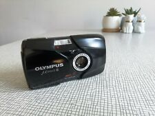 Olympus MJU II f2.8 35mm Point & Shoot Film Camera Good Working Condition