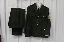 Mens Army Military Officer Fancy Dress Costume Halloween**FREE SHIPPING!!