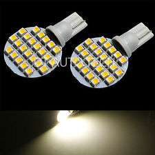 415 Lumens 10X T10/921 Warm White RV Trailer Interior 12V LED Light Bulbs 24 SMD
