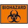 BioHazard Bio-Hazard Danger Warning Symbol Car Truck Sticker Window Decal