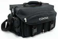 "Contax Multi-Pocket Camera Bag 9"" W x 9.5"" D x 15.5 H (Black)"