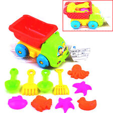 11Pcs Kid Lovely Sand Truck Bucket Spade Seaside Pit Playing Children Toys