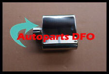 """2.3"""" inlet Stainless steel trapezoid resonated Exhaust Muffler Tip 7"""" long"""