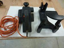 Black Decker wood plainer with stand holder