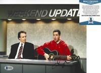 ADAM SANDLER SIGNED SATURDAY NIGHT LIVE SNL 8x10 PHOTO 5 ACTOR BECKETT COA BAS