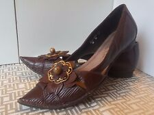 Italy Brand MOS Women's Shoes - made in Italy -  Dark Brown - Size 38 Eur.