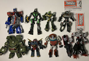 Transformers Animated Action Figure Lot Loose 2007 Hasbro