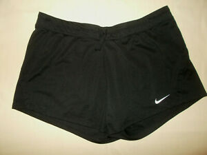 NIKE BLACK ATHLETIC SHORTS WOMENS XL EXCELLENT CONDITION