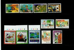 A Fantastic mint Aruba 1997 to 2010 Good Cat Value group