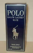 Ralph Lauren ~ POLO BLUE  EDT 1.0 oz/30 ml New  Spray for Man Sealed Box