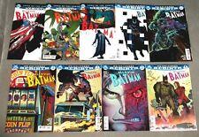 ALL STAR BATMAN #1-9 Complete Lot NM Batman 2016 Snyder JRJR Variants DC #comics