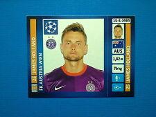 Panini Champions League 2013 - 2014 N.533 Holland Austria Wien