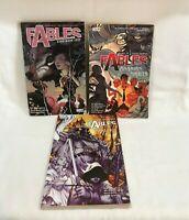 Fables  Graphic Novel Series Set Vertigo  Lot of 3  Storybook Love, Homelands