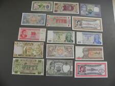 15 Welt Banknoten  UNC