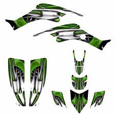 TRX 400 EX Custom Graphics kit for Honda 1999 - 2007 400EX #4444 Green Tribal