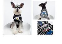 Fashion Pet Clothes Dog cat Clothes  T-shirt  Teddy Schnauzer Noodie