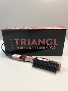 Calista Hair Dryer - Triangl Heated Detailer Brush - 3 COLORS AVAILABLE