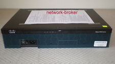 Cisco Cisco2911/K9 Router  2911 2GB RAM 256MB Flash  mit Funktionsprotokoll