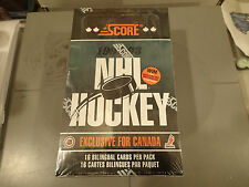 1992 - 1993 Score Canadian Ed. Hockey Cards Sealed Box