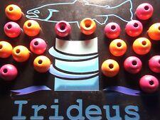 Irideus trout beads Real Roe Trout Steelhead Bead Tungsten Fly Fishing & Tying