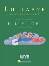 Lullabye Goodnight My Angel Sheet Music Piano Vocal Billy Joel NEW 000353326