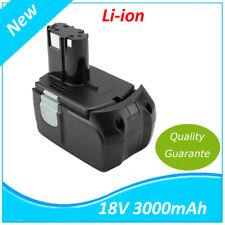 18V 3.0AH Li-ion Batterie pour HITACHI EBM 1830,327730,327731,BCL 1815
