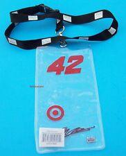 Juan Pablo Montoya #42 Target Ticket Credential Holder Lanyard NASCAR New