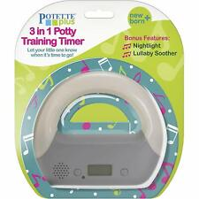 Kalencom Potette Plus 3-in-1 Potty Training Timer + Night Light + Lullaby Soothe