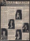 Coupure de presse Clipping 1966 Marie Versini (1 page)